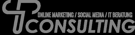TP Consulting Logo Grau + Schrift